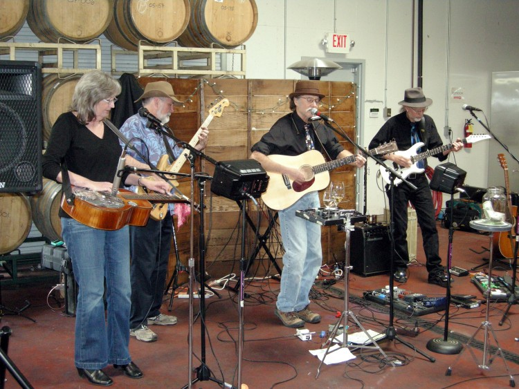 Mike Justis Band live at Rominger West